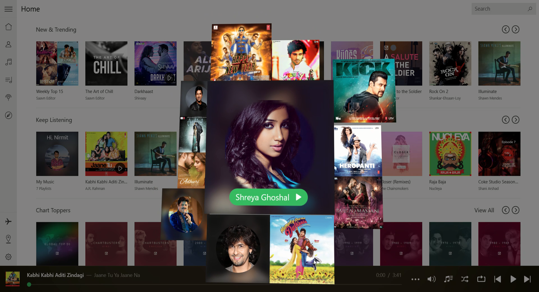 Saavn Bloom